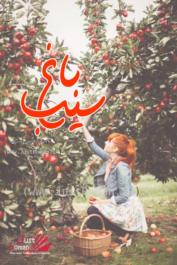 رمان باغ سیب